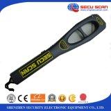 Anti-tombent le détecteur de métaux tenu dans la main de corps humains du détecteur de métaux AT-2009 pour l'usage de vérification de garantie