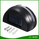 Luz solar al aire libre de la cerca de la lámpara de pared del jardín del LED