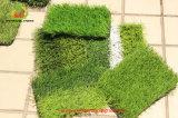 عشب اصطناعيّة لأنّ كرة قدم مع سميك [ب] عشب مغزولة