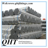 Stock에 최신 Dipped Galvanized BS1387 Steel Tube