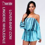 Heiße Playsuit Clubwear Dame-Form-Abnützung-reizvolles Kleid kleidet (L55201-1)