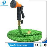 Boyau extensible en laiton solide durable de l'eau de jardin avec le gicleur de pulvérisateur