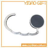Ronda suspensión del monedero de la forma con acrílico Piedra para el regalo promocional
