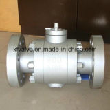 600lb 900lb 1500lbは鋼鉄A105フランジの端の球弁を造った