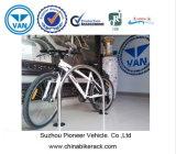 U tapent des crémaillères de vélo de stand de vélo d'acier inoxydable