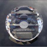 Кристаллический украшение промотирования держателя визитной карточки пресс-папья (Ks14060)