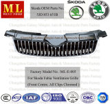 Automobile Grille per Skoda Fabia From 2007 (5JD853668B)