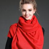 نساء في شتاء أن يحافظ دافئ جلّيّة أحمر بوليستر وشاح