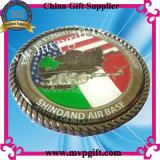Coin trofeo de metal para regalo 3D de la moneda Ejército (M-CC10)