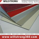 Panneau composé en aluminium d'ACP de matériau décoratif