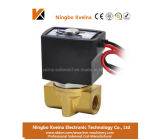 Uz 12V AC230V 2 Way Direct Acting Brass Mini Water Gas Solenoid Valve