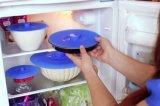 Spill Tampa resistente sucção Food Grade Silicone para Pan