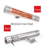 En segundo lugar a ningunos, calentador infrarrojo comercial de la comodidad del calentador