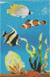 Las últimas vidrio cristalino del mosaico de imágenes para piscina (PT007)