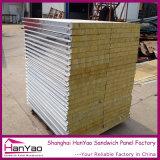 Zwischenlage-Panel des Isolierungs-Felsen-Wool/EPS/PU für vorfabriziertes Haus