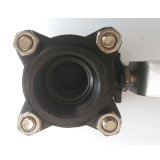 valvola a sfera del filetto dell'acciaio inossidabile 3PC con la maniglia