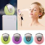 Mobiltelefon-Schönheits-Befeuchter USB-Stromversorgungen-Farben-blaues purpurrotes grünes rosafarbenes Nebel-Spray-Diffuser- (Zerstäuber)wasser-Messinstrument