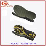 Подошва сандалий людей конструкции способа, EVA+Rb Outsole для делать ботинки