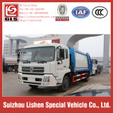 Sale 12 Cbm Hydraulic Pump Garbage Compressor Truck Rubbish Collection Vehicle를 위한 쓰레기 Truck