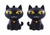 会社のギフトのための漫画猫のシリコーンの習慣8GB USBのメモリ棒4GB USB 2.0 Pendrive