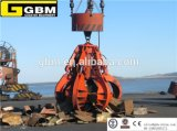 Hydraulisches Scrap Electric Grab Orange Peel Grab Bucket für Plants