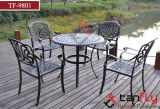 Meubles Rust-Resistant de patio de fonte d'aluminium