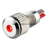 P8 8mm Nickel Plated Brass DOT Illumination Indicator (P8)