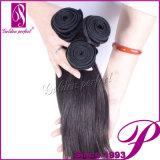 Cabelo do brasileiro da polegada do cabelo humano 12-30 do preço 100% de Dicount