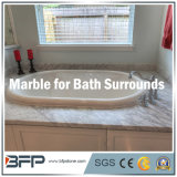 Pedra natural/telha de mármore para o banheiro que cerca/lidar do banheiro/banheiro