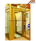 стеклянный лифт виллы кабины 400kg с машиной Roomless