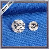 Qualidade superior em volta do melhor Moissanite diamante Sparkling de 6.5mm Vvs