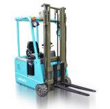 Forklift pequeno do armazenamento frio