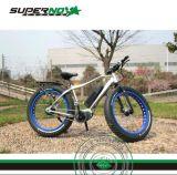 7 Geschwindigkeits-MITTLERER Antriebsmotor-fetter Gummireifen-Gebirgselektrisches Fahrrad