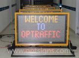 Знаки сообщения Vms доски знака уличного движения СИД установленные тележкой переменные