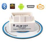 Leitor de código OBD2 de Elm327 OBD2 Bluetooth auto do branco (V2.1 escolhem a placa)