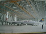 Hangar ao ar livre de Aircarft com bens e projeto de aço de confiança