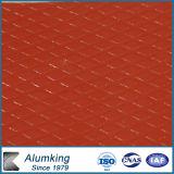 Piatto Chequered di alluminio per la decorazione
