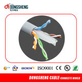 cable de la red de 23AWG Cu/CCA CAT6