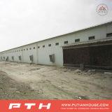 Полуфабрикат пакгауз стальной структуры для строительной площадки