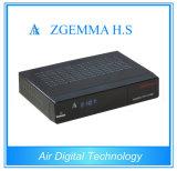 Unité centrale de traitement duelle de noyau de carte d'écart-type de soutien d'OS de Linux de soutien IPTV Enigma2 de Zgemma H.S HD DVB S/S2 de récepteur de Satelleite TV