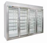 分割されたタイプスーパーマーケットの飲料および食糧表示冷却装置