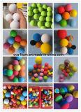 Bola al aire libre de interior de la práctica de la esponja de las bolas de la práctica del golf de la espuma de EVA del arco iris