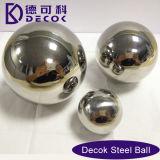 esfera grande inoxidável oca do espelho da esfera 304 de aço de 30mm 51mm 63mm 76mm grande