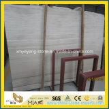 Blanco/gris natural/negro/café/mármol de madera antiguo de la vena para el azulejo del piso o de la pared