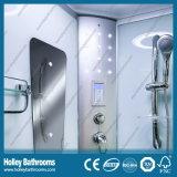 大きいLEDランプ(SR119C)が付いているL形のデラックスな多機能のシャワーのキュービクル