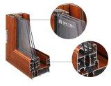 Italy do Casement térmico da ruptura de 150 séries indicador de vidro com rede da tela