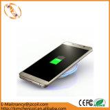 Cargador sin hilos de Qi para el teléfono elegante del borde de la galaxia S6/S6 de Samsung