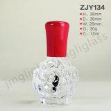 Cap를 가진 간단한 Style 12ml Nail Polish Bottle