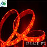 Indicatore luminoso di striscia flessibile di Epistar LED di colore rosso della decorazione (LM5050-WN120-R)