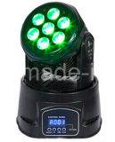 7*3W смешивая цвет RGB моет миниый Moving головной свет (ICON-M005C)